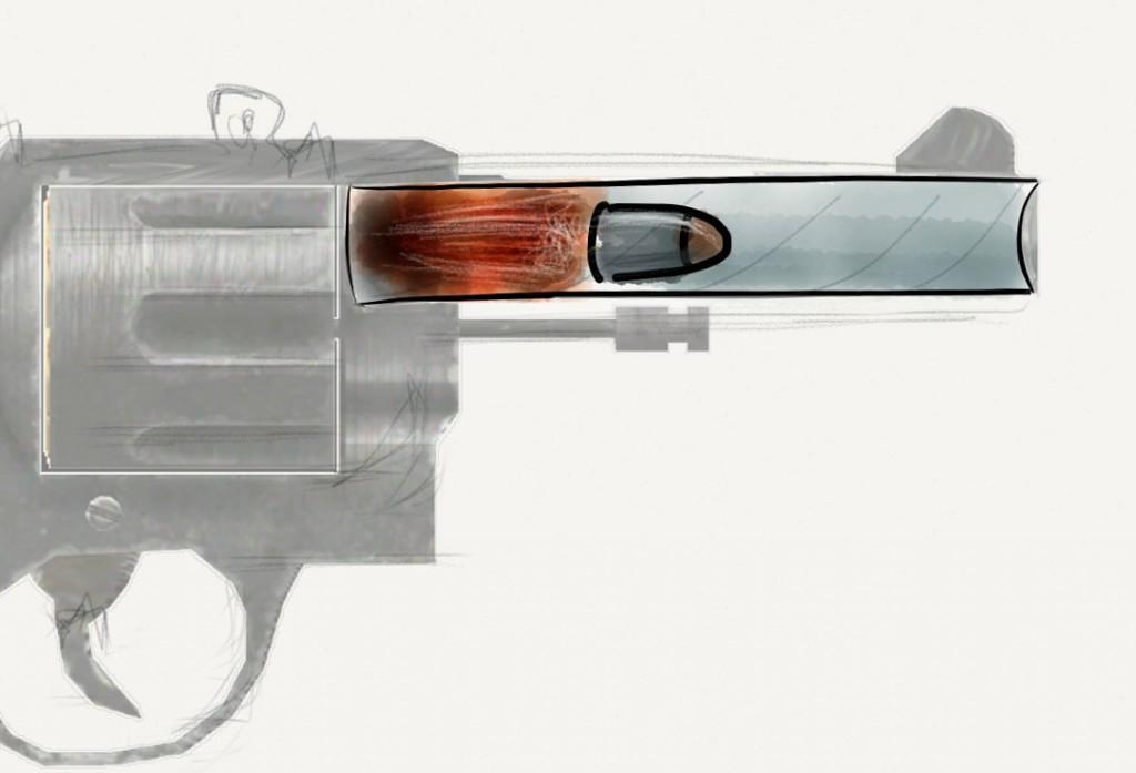 firing a bullet