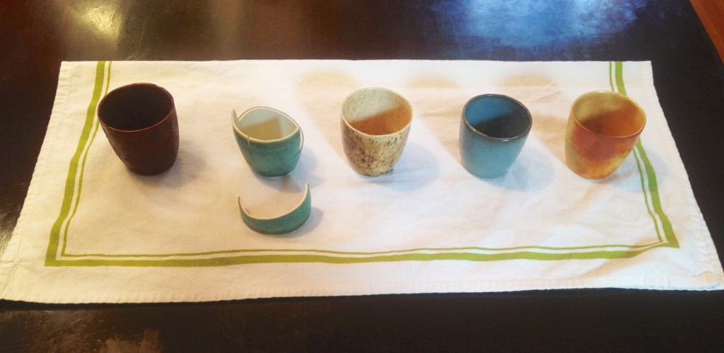 Slipcast cups - Joshua David Bennett